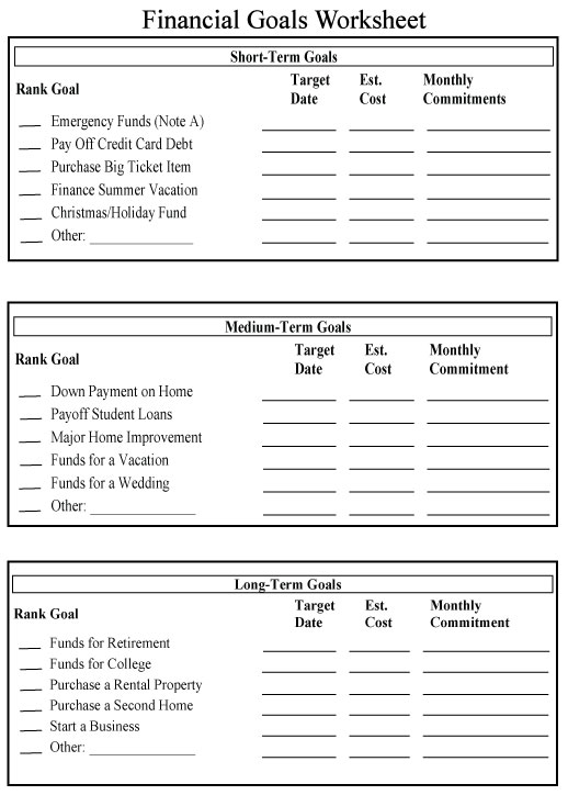 Financial Worksheet PDF submited images.